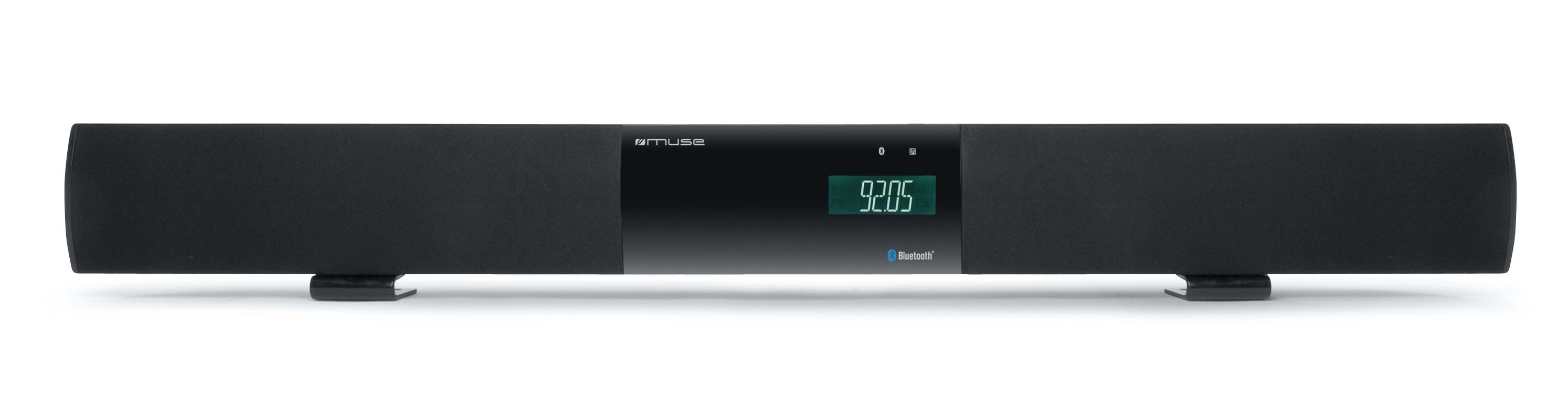 Verstarkung Fur Das Wohnzimmer Muse Soundbar Mit Bluetooth