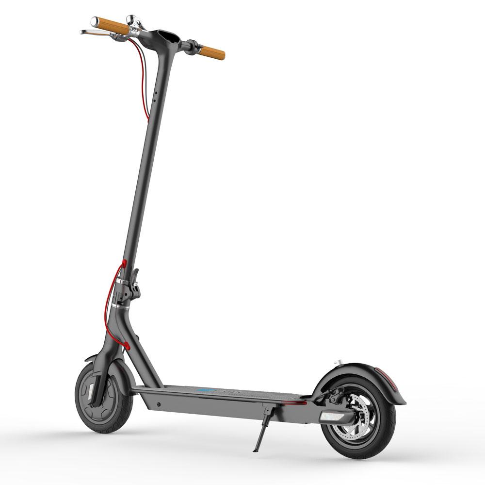 longboard trifft auf e scooter elektroroller io hawk sparrow. Black Bedroom Furniture Sets. Home Design Ideas