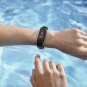Activity Tracker auch im Schwimmbad