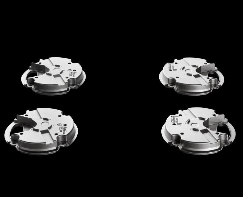 Föhl Heißkanaltechnologie - Montageplatte für Scharniere Motorabdeckung für Ventilator