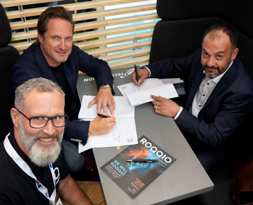 ROQQIO schließt Partnervertrag mit et-systems
