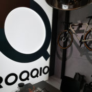 Ein ROSE Bike am ROQQIO-Messestand auf der EuroShop 2020