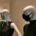 Schaufensterpuppe mit Maske