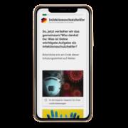 Infektionsschutzhelfer_Smartphone