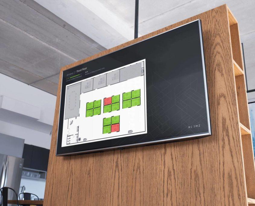 ROOMZ digitale Raumverwaltung Display