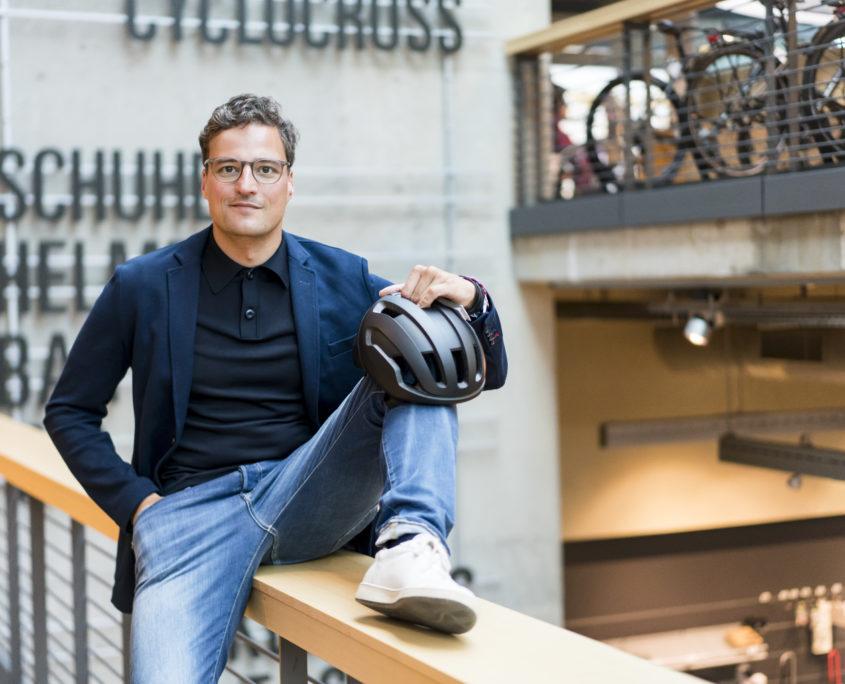 ROSE Bikes CEO Marcus Diekmann