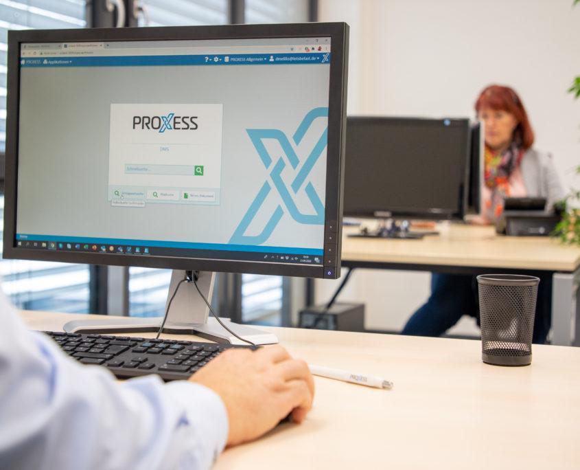 PROXESS 10 DMS_Bildschirm
