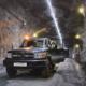Huber RUN-E Electric Cruiser für den Bergbau