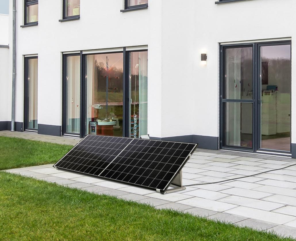 Mit der Balkon-Solaranlage von selfPV wird jeder Teil der Energiewende