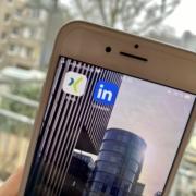 Xing und LinkedIn App